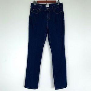 St. John's Bay Straight Leg Jeans Blue Denim